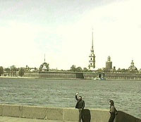 Click to see the realtime view of Peter and Paul fortress