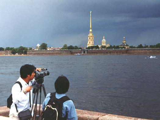 Peter and Paul Fortress. Click to see the next photo