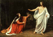 A.Ivanov. Christ�s Appearance to Mary Magdalene After His Resurrection. 1835